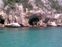 Coast near Cala Gonone, Sardinia